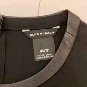 Club Monaco Tops - Black silk blouse by Club Monaco